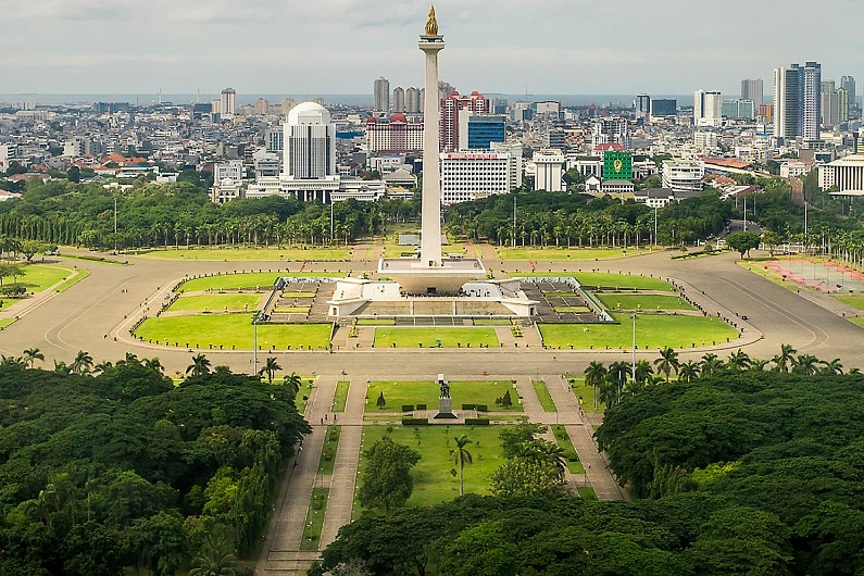 Endonezya Jakarta Mermer Fuarı
